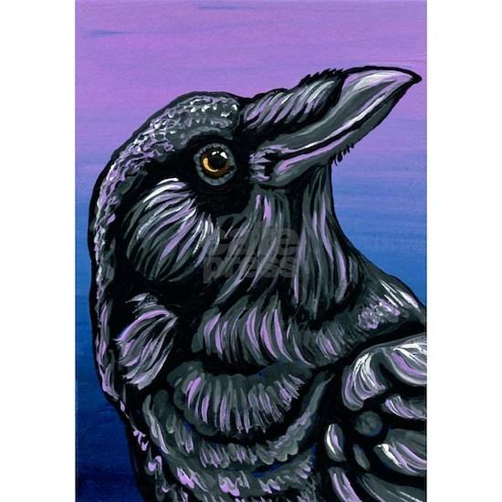 Purple Crow Raven