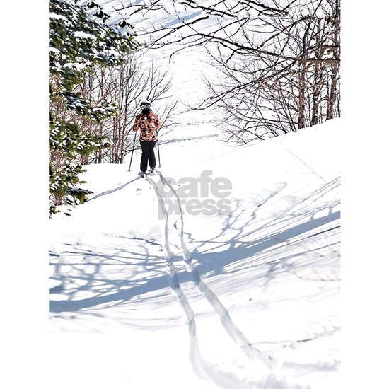 Lone Cross Country Skier