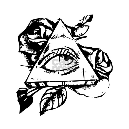 triangle all seeing eye