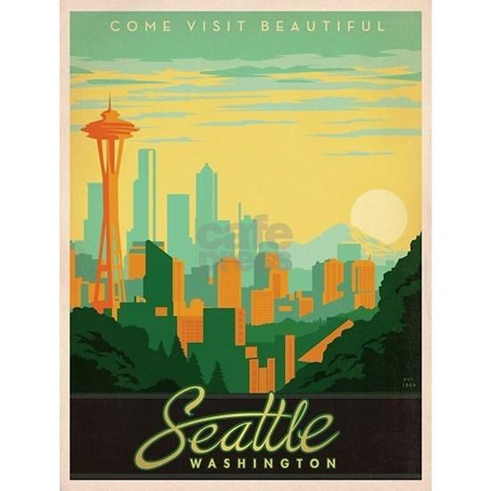 Vintage poster - Seattle