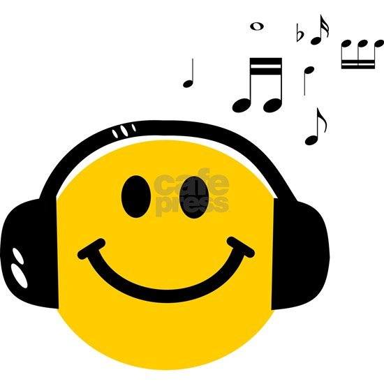 Music Love Smiley