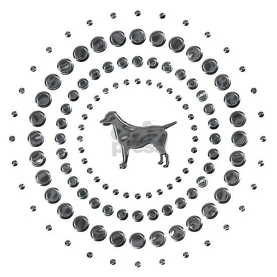 Labrador Retriever Chrome Studs
