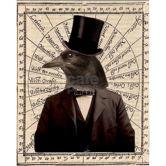 Victorian Steampunk Crow Man Altered Art