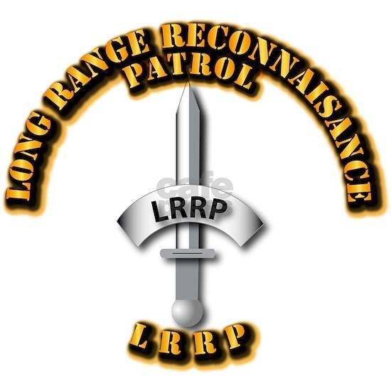 T-Shirt - Army - Badge - LRRP