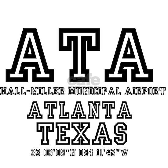 TEXAS - AIRPORT CODES - ATA - HALL~MILLER MUNICIPA