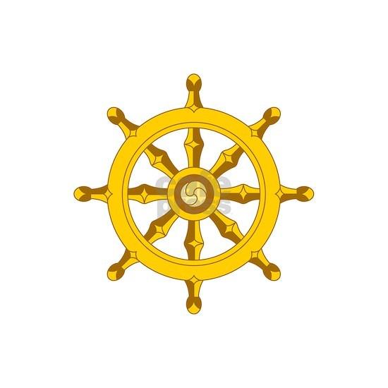 DHARMA BUDDHISM WHEEL