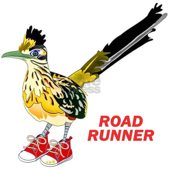 Road Runner in Sneakers