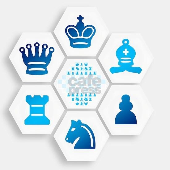 Chess on Hexagonal Tiles