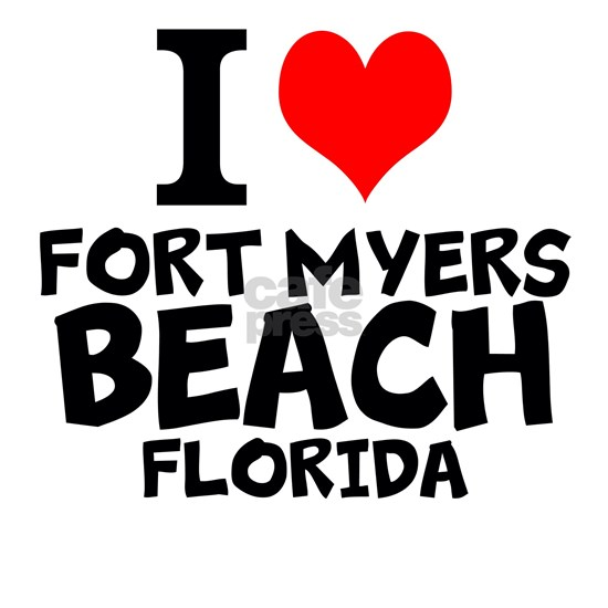 I Love Fort Myers Beach, Florida