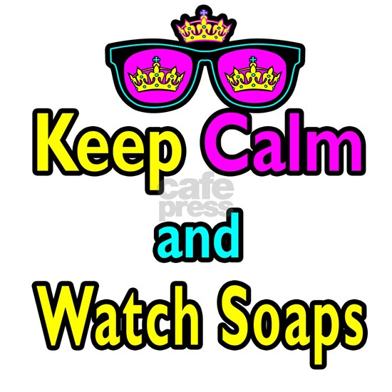 Crown Sunglasses Keep Calm And Watch Soaps