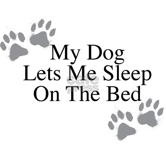 My Dog Lets Me Sleep On The Bed