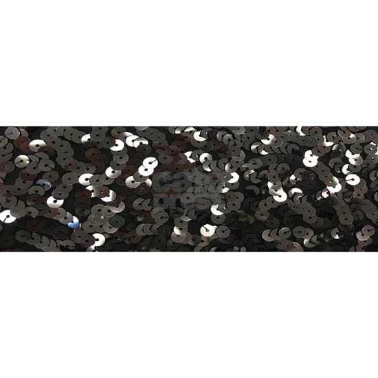 chic glitter black Sequins