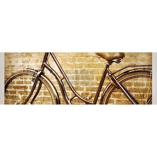 romantic street vintage bike