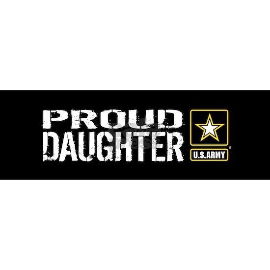 U.S. Army: Proud Daughter (Black)