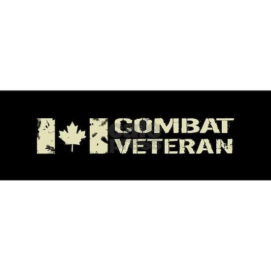 Canadian Flag: Combat Veteran