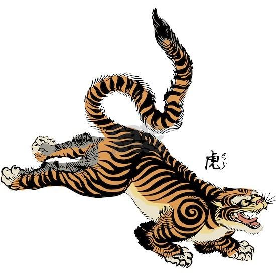 Japanese Tiger Art