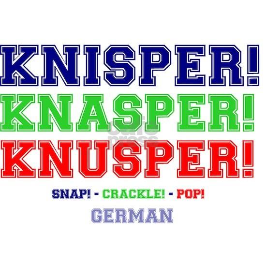 SNAP - CRACKLE - POP - GERMAN