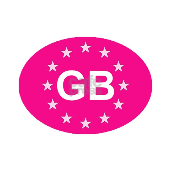 sticker GB pink