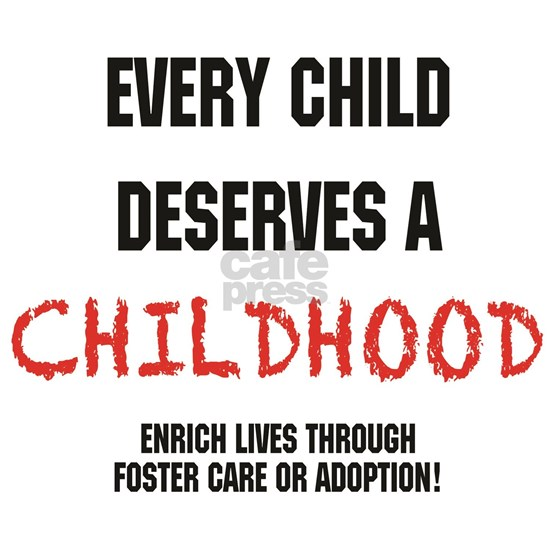 Updated.every child.black and red