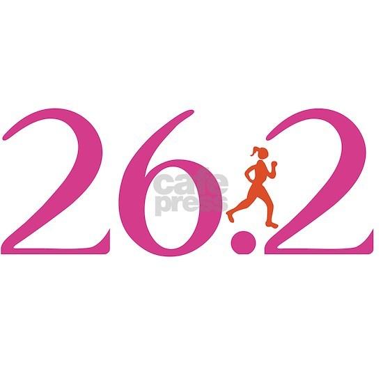 26.2 Marathon Run Like A Girl