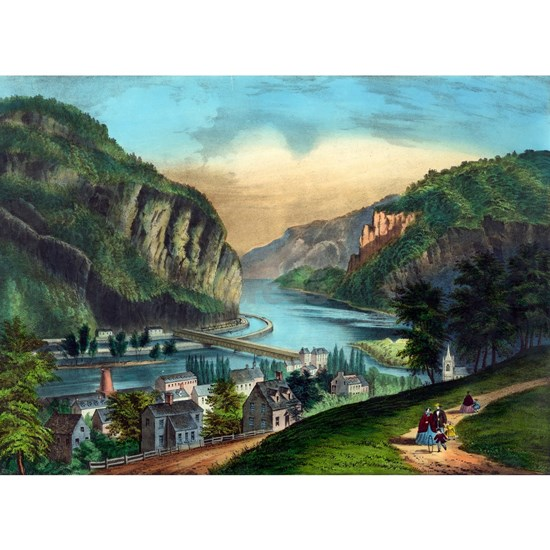 View of Harpers Ferry, Va. - 1907