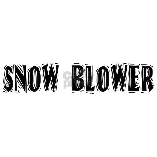 snow blower black