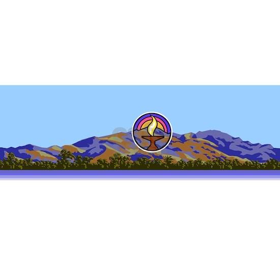 Mission Peak mountains logo