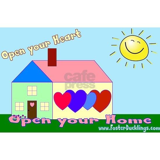 Open your heart w/website