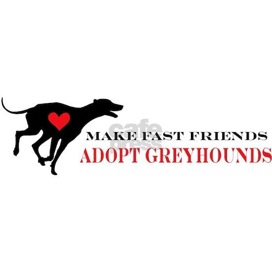 greyhound friend