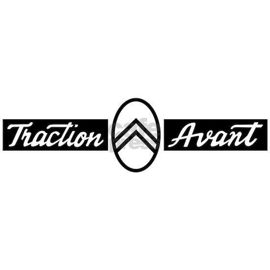 Citroën Traction Avant script emblem