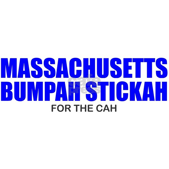 Bumpah Stickah for the Cah - Massachusetts