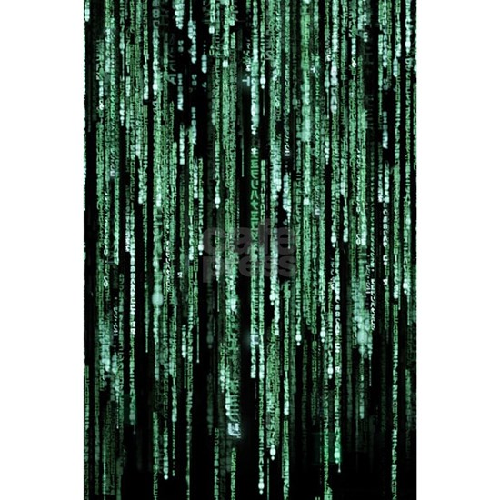 Matrix Code Mini Poster Print by WheeDesign - CafePress