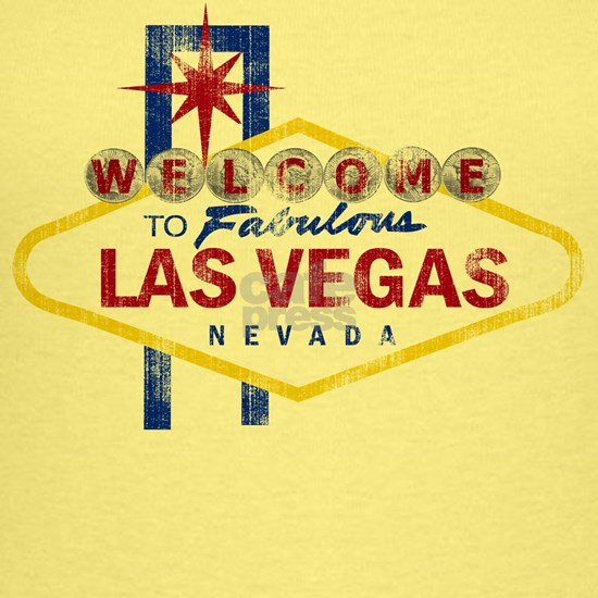las vegas sign tshirt worn