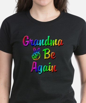 Peace Grandma To Be Again Women's Dark T-Shirt