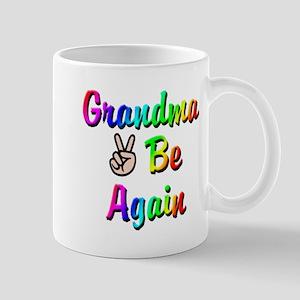 Peace Grandma To Be Again Mug