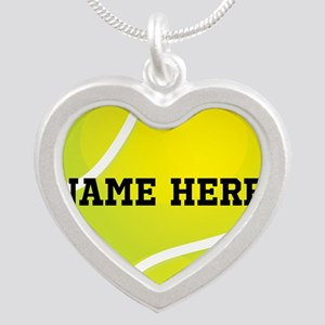 Personalized Tennis Ball Necklaces