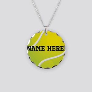 Personalized Tennis Ball Necklace