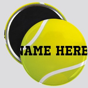 Personalized Tennis Ball Magnets