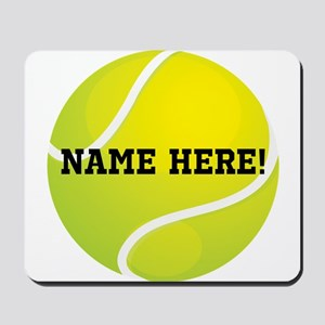Personalized Tennis Ball Mousepad
