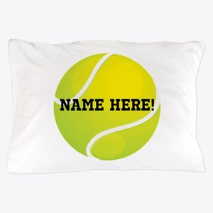 Personalized Tennis Ball Pillow Case