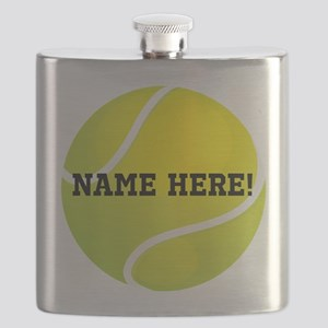 Personalized Tennis Ball Flask