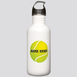 Personalized Tennis Ball Water Bottle