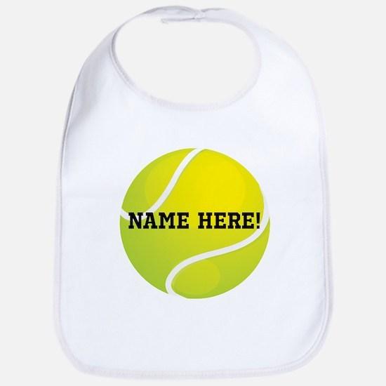 Personalized Tennis Ball Bib