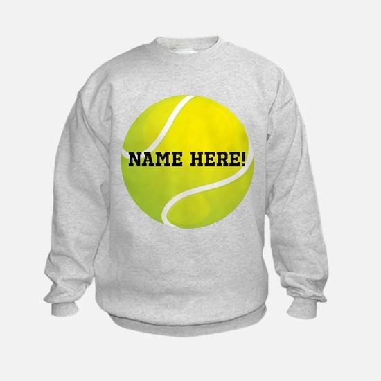 Personalized Tennis Ball Sweatshirt