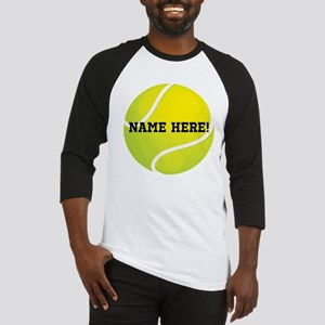 Personalized Tennis Ball Baseball Jersey
