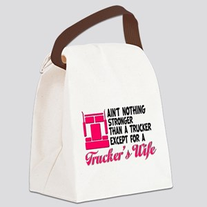 Ain't Nothing Stronger Canvas Lunch Bag