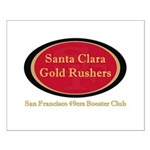 Gold Rusher Logo Posters Small Poster
