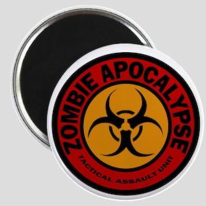 ZOMBIE APOCALYPSE Tactical Assault Unit Magnet