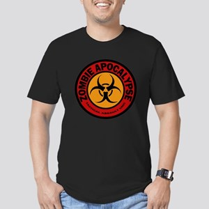 ZOMBIE APOCALYPSE Tact Men's Fitted T-Shirt (dark)