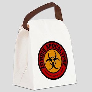 ZOMBIE APOCALYPSE Tactical Assaul Canvas Lunch Bag